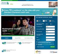 standard chartered credit card credit
