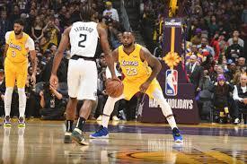 Los Angeles Lakers vs LA Clippers ...