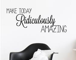 Amazing Wall Decal Etsy