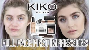 kiko milano full face one brand first
