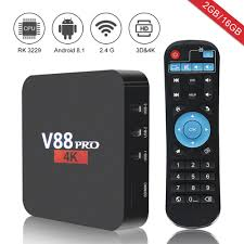 V88 pro Android 8.1 box tv smart tv box One year subscription Fire IPTV  Arab Spain Sweden Netherlands Live TV-in Set-top Boxes from Consumer  Electronics on Aliexpress.com