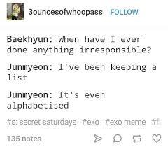 fake exo quotes bakehyun and suho exo memes