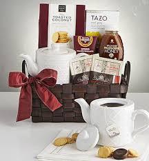 wintry warmer tea gift set in spanaway