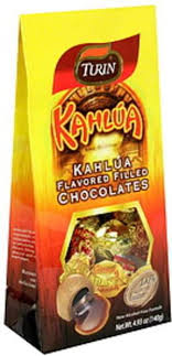 turin kahlua flavored filled chocolates