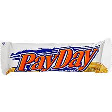 payday candy bar peanut caramel