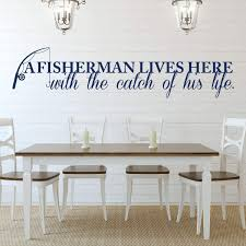 Fisherman Vinyl Wall Decor Vinyl Decor Wall Decal Customvinyldecor Com