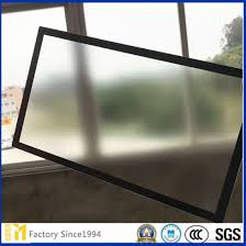 quality both sides non glare glass