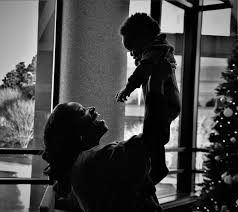 silhouette, woman, holding, baby, person, human, hair, tree, CC0 ...