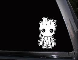 Baby Groot Guardians Of The Galaxy Vinyl Decal Phone Decal Laptop Decal Wall Decal Car Decal Baby Groot Vinyl Decals Phone Decals