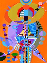 African Mask - Ivey Hayes Artworks
