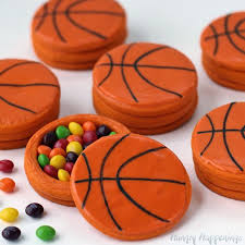 basketball piñata cookies filled with