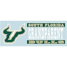Amazon Com Usf Bulls Mom W Bull Horns Vinyl Decal South Florida Car Truck Sticker Automotive