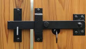 Wooden Double Gate Latch Renov8z