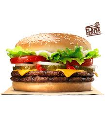 double whopper with cheese burger king