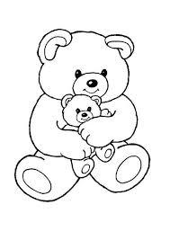 Teddy Bears Coloring Page 9 Kleurplaten Dieren Kleurplaten