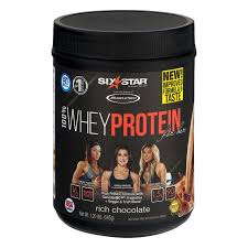 protein powder whey isolate six star