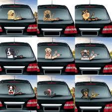 A Fierce Rottweiler Dog Removable Car Waving Wiper Rear Window Wiper Stickers Rear Windshield Car Sticker Car Styling Decoration Car Stickers Aliexpress