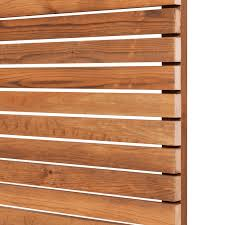 Cequence Venetian Redwood Stackable Slatted Fence Panel