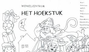 Kleurwedstrijd Sinterklaas In Het Hoekstuk Uitkijkpost