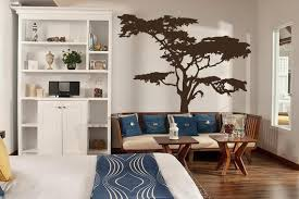 Realistic African Tree Wall Decal Headboard Wall Decal Home Etsy