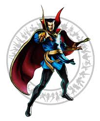 Dr Strange Ultimate Marvel Vs Capcom 3 Artwork