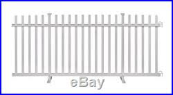 Zippity Outdoor Products Zp19026 Lightweight Portable Vinyl Picket Fence Kit Withm Fence Kit New