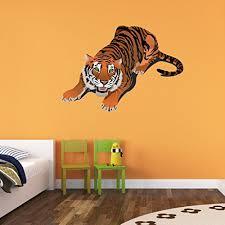 Crouching Tiger Wall Decal Wall Sticker Vinyl Wall Art Home Decor Wall Mural Sd3022 46x32 Walmart Com Walmart Com