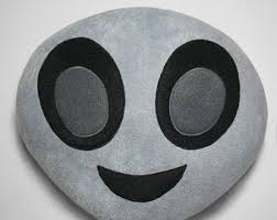 Emoji Pillow Etsy