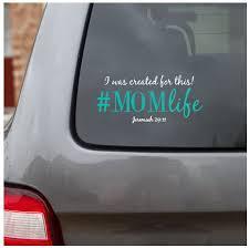 Amazon Com His Child Momlife Decal Christian Car Decal Mom Car Decal Automotive