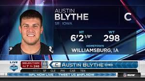 Colts pick Austin Blythe No. 248