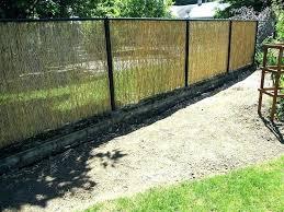 Bamboo Fence Roll Webuilt