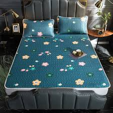 summer cooling bed mat ice silk cooling