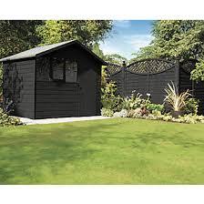 Ronseal One Coat Fence Life Tudor Black Oak 9ltr Fence Paint Screwfix Com