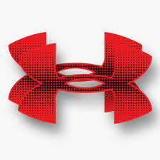 Under Armour Logo Auto Body Decal Red 15x8 5 For Sale Online Ebay