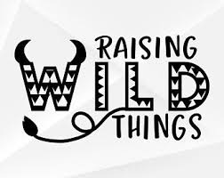 Wild Things Decal Etsy