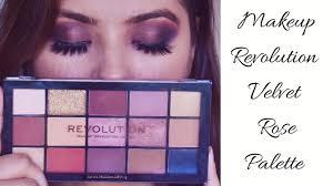 makeup revolution reloaded velvet rose
