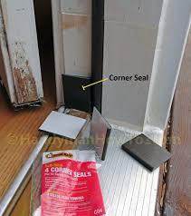 exterior door frame corner seal