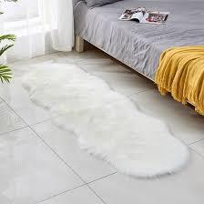 Shop Plush Faux Fur Carpets For Living Room Irregular Oval Sofa Kids Bedroom Online From Best Area Rugs Doormats On Jd Com Global Site Joybuy Com