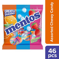 mentos candy orted flavour pp