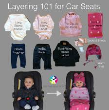 the car seat ladycold weather tips