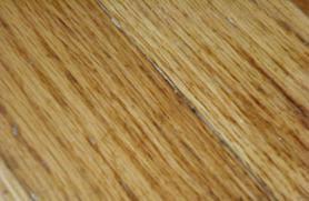 remove latex paint from hardwood floors