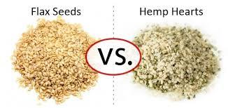 nutrition faceoff flax seeds vs hemp