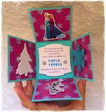 Karina Nebot Invitaciones De Frozen Frozen Decoracion