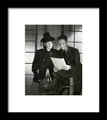 Wendy Barrie And Corporal Marion Hargrove Framed Print by Horst P. Horst