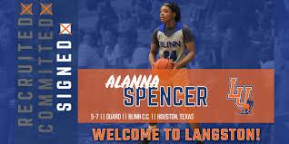 Langston University - Women's Basketball Signs Alanna Spencer For 2020-21