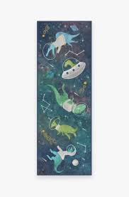 Dinosaurs In Space Rug Washable Rug Ruggable
