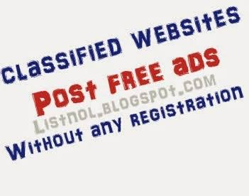 Image result for Post Free Ads Without Registration