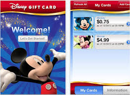 new disney gift card app now available