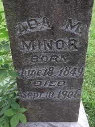 Ada Marshall Minor Minor (1849-1906) - Find A Grave Memorial