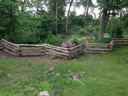 Colonial Style Split Rail Fence 5 Steps With Pictures Instructables